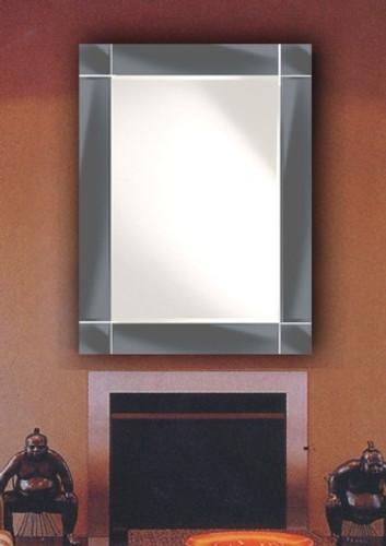 St Kilda Frameless Mirror (mnblk)