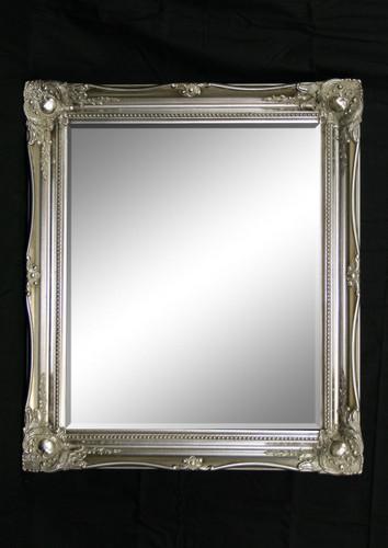 Print Décor - Contessa Silver Beveled Mirror