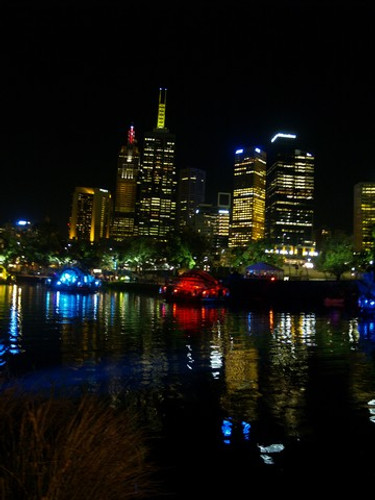 Melbourne from the Yarra, 2006 C'wealth Games