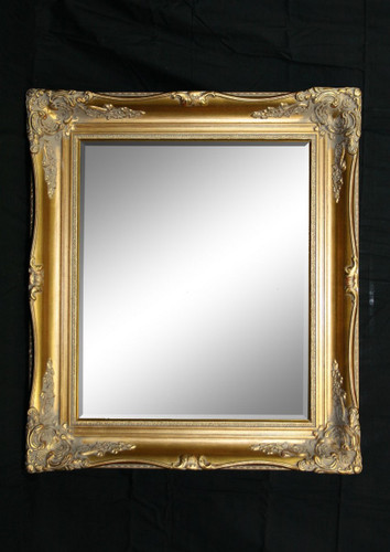 Print Decor Imperial Gold Beveled Mirror