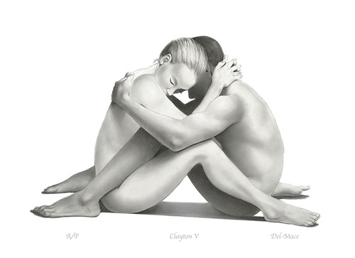 Nude Couple by Gill Del-Mace