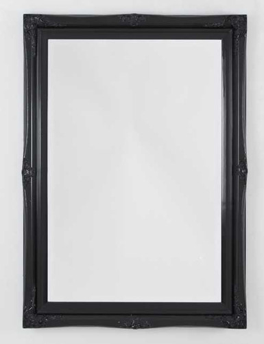 Print Decor Princess Black Gloss Mirror