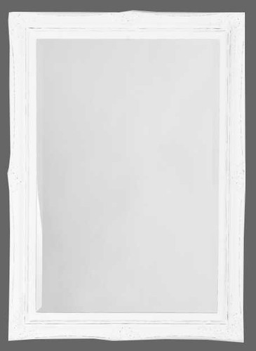 Print Decor White Princess Mirror
