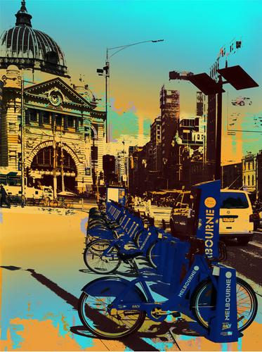 Bike City (Aqua)