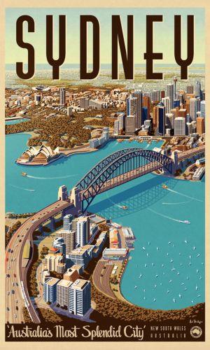 Print Decor | Sydney Splendid City