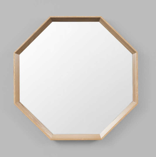 MODERN MIRROR | WINDSOR MIRROR: OCTOGON | PRINT DECOR