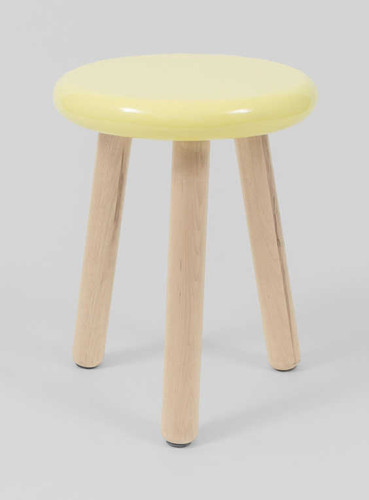 MODERN FURNITURE | JILL STOOL: LEMON | PRINT DECOR