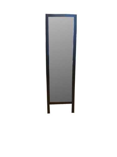FREE STANDING BLACK FRAMED MIRROR