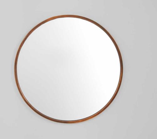 Simplicity Mirror Copper 76cm   Print Decor