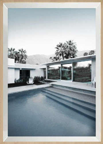 Framed Print | Palm Springs Hotel | Print Decor, Malvern