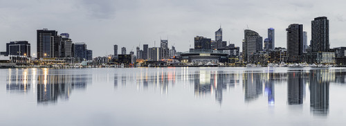 Photography | Melbourne Winter Docklands | Nick Psomiadis