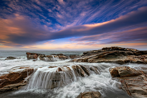 Photography | Godfrey Creek Cascade | Nick Psomiadis