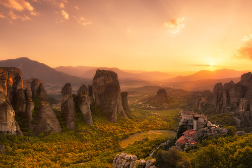 Photography | Meteora | Nick Psomiadis