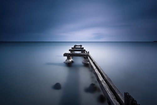 Photography | Parkdale Pier Moody Blue | Nick Psomiadis