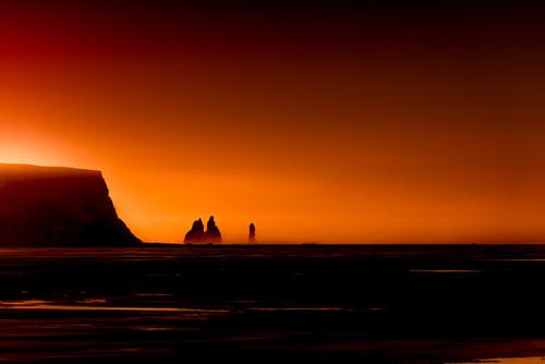 Photography    Reynisdranger Sea Stacks   Nick Psomiadis