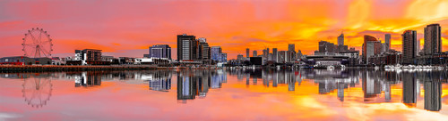 Photography | Melbourne Docklands Mega Panorama | Nick Psomiadis
