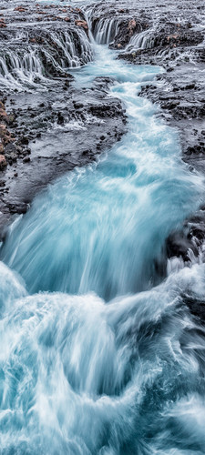 Photography   Bruarfoss    Wide Format   by Nick Psomiadis