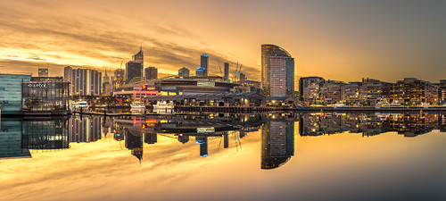 Photography   Melbourne Docklands   Wide Format   by Nick Psomiadis