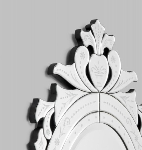 Venetian Mirror Oval | Detail
