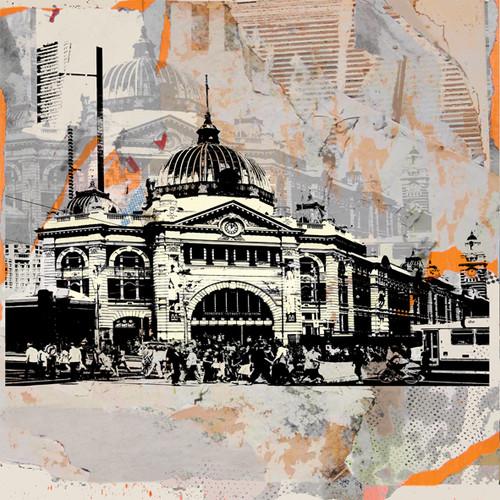 Jan Neil, Flinders St Graffiti