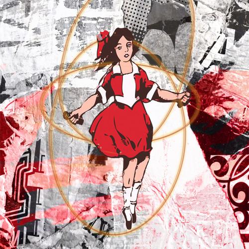Jan Neil, Skipping Girl Red White