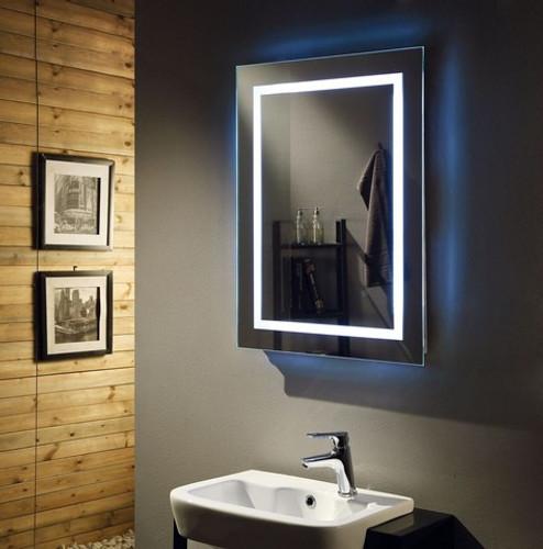 Rodin Backlit / Frontlit Mirror