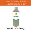 1 litre Base/Carrier Massage Oil - Choose Variety Refined Virgin & Unrefined