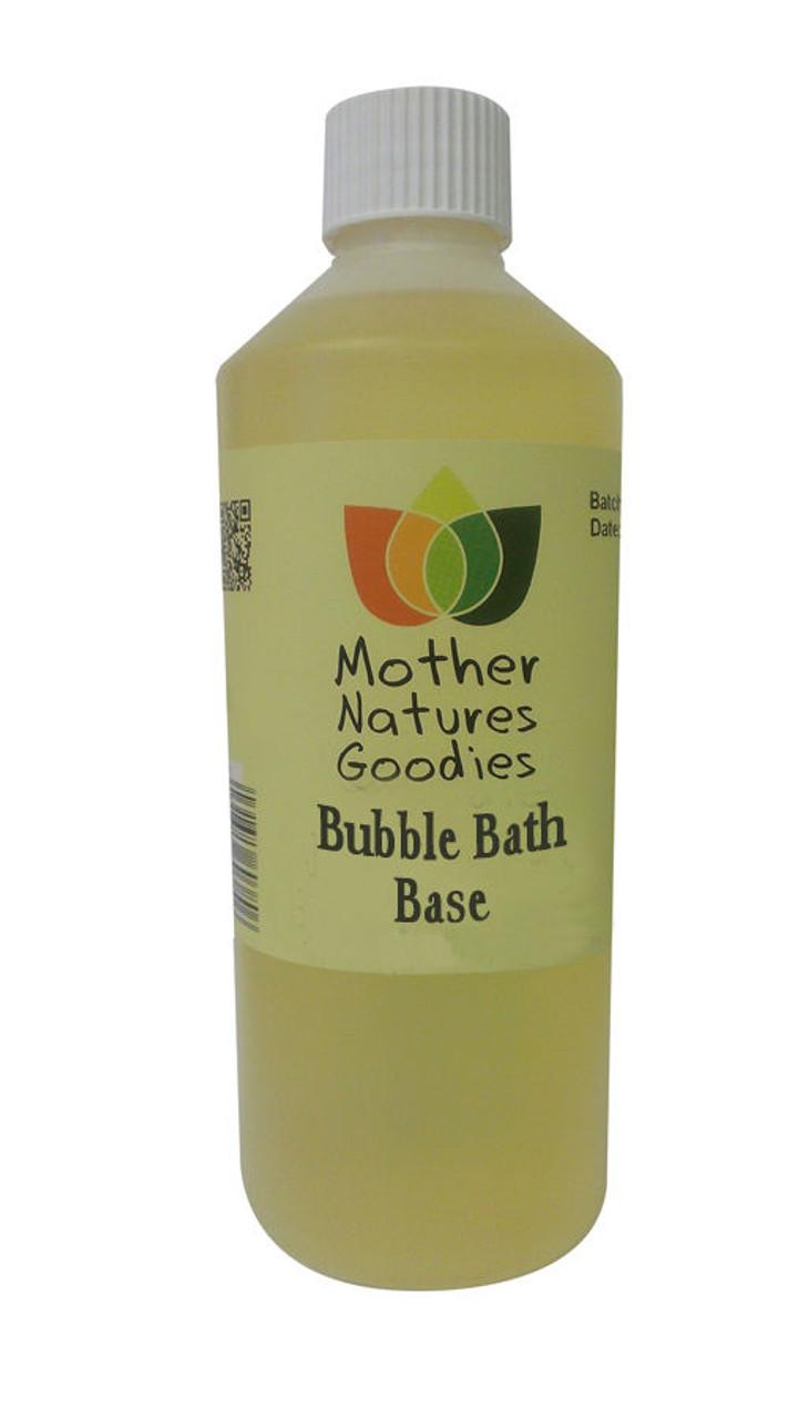 BUBBLE BATH Fragrance Free Base - SLS Free Foam Soak Add Essential Oil