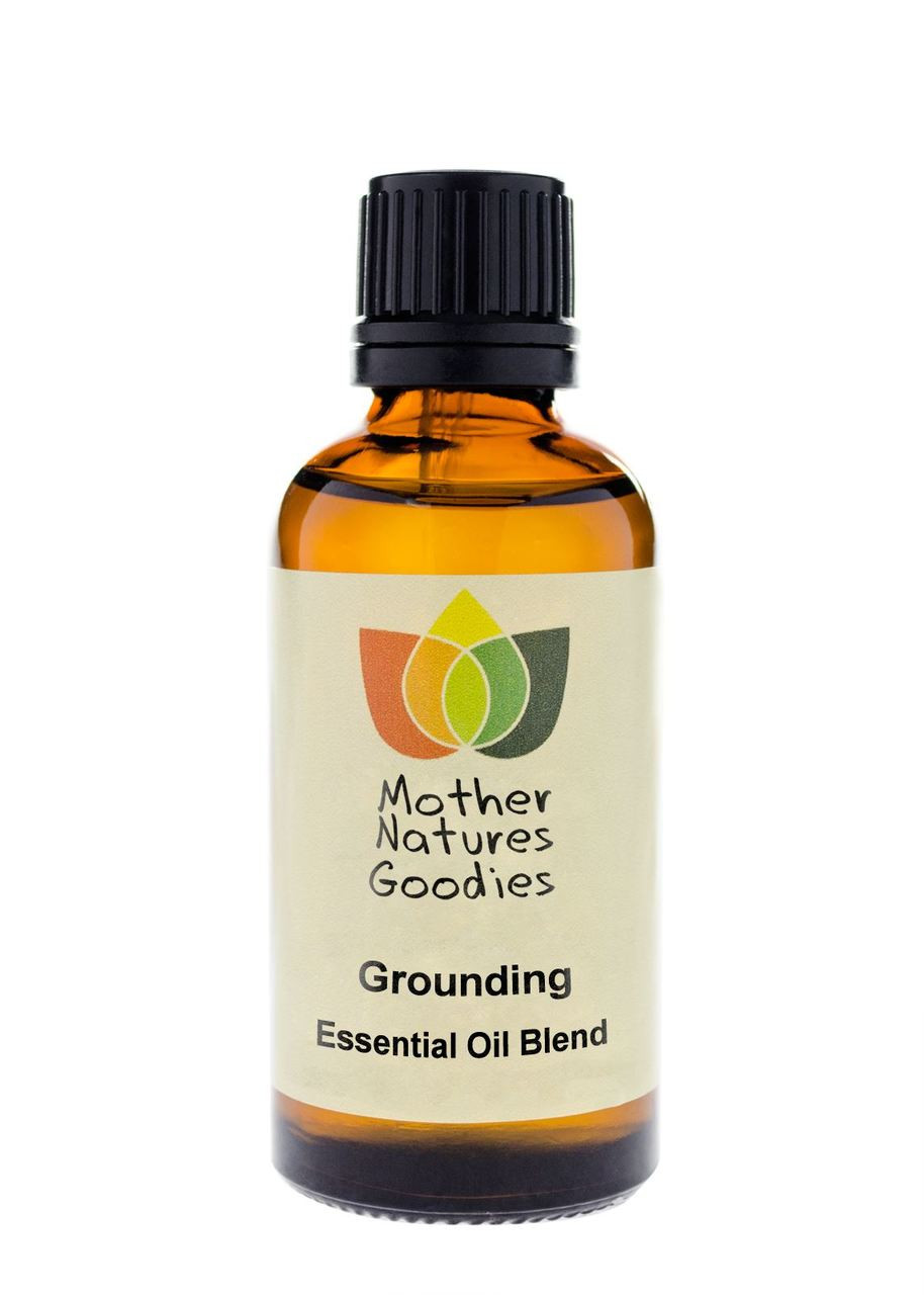 Grounding & Meditation Essential Oil Blend Natural Therapeutic Aromatherapy