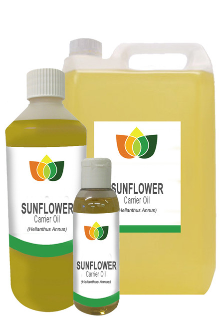 SUNFLOWER SEED Oil Cold Pressed Natural Massage Carrier Base Aromatherapy