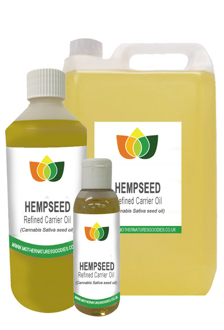 HEMP SEED OIL (Carrier Massage Base Oil) MULTI SIZE