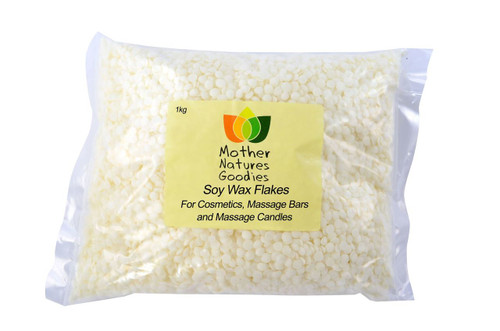 Soy Wax Flakes for Cosmetics, Massage Bars and Massage Candles