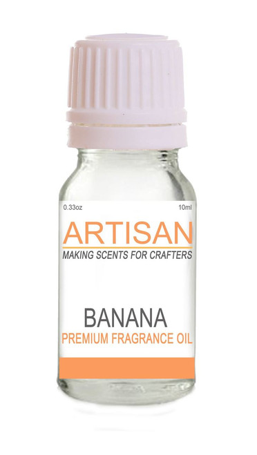 BANANA FRAGRANCE OIL for Candles, Melts, Home Fragrance & PotPourri