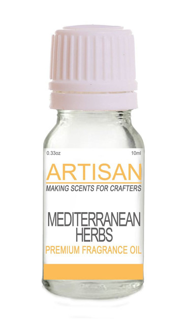 MEDITERRANEAN HERBS FRAGRANCE OIL for Candles, Melts, Home Fragrance & PotPourri