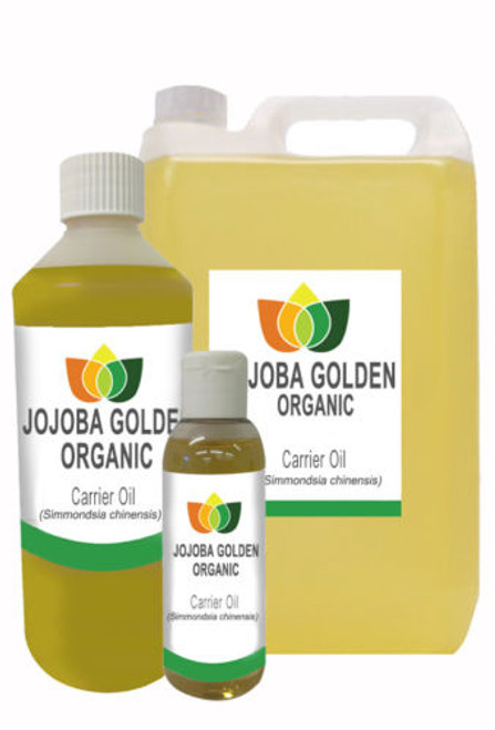 Jojoba Oil Golden Organic Pure Natural Base Carrier Massage Oil