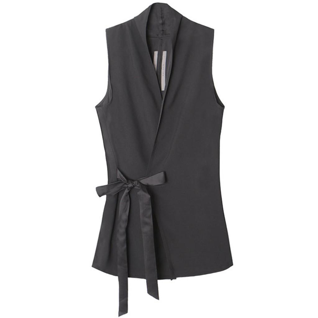Black Wrap Vest