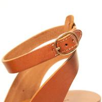 Tan Wooden Wedge
