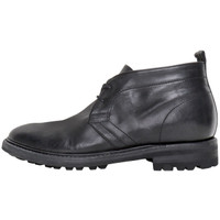 Black Leather Desert Boot