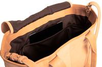 Natural Leather Cornelian Taurus Tote