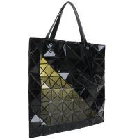 Yellow Triangle Geometric Tote Bag