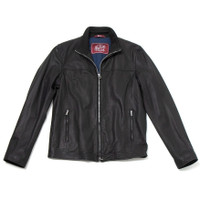 Black Goat Leather Jacket