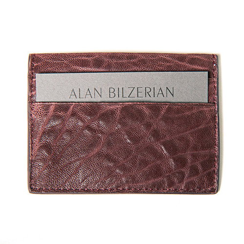 Bordeaux Card Wallet