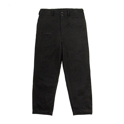 Black Wool Pants
