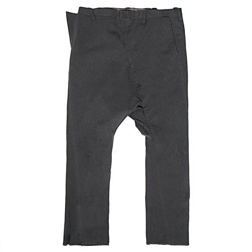Drop Crotch Seam Trouser