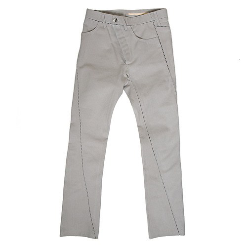 Vertical Ladder Seam Trouser