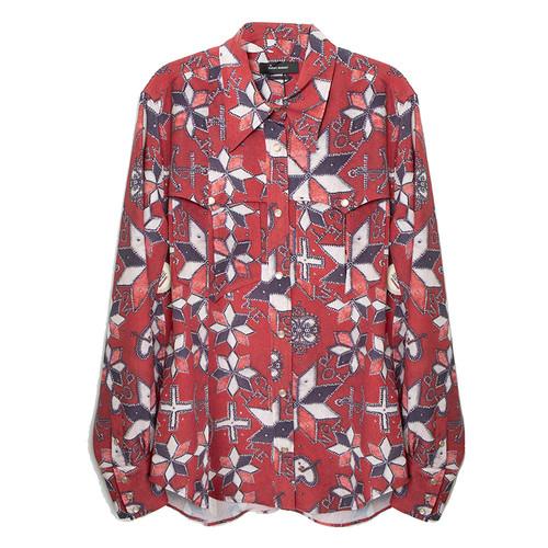 Tania Printed Cowboy Shirt