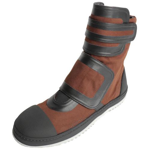 Bronze Hi-Top Sneaker Boot