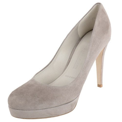 Grey Suede High Heel