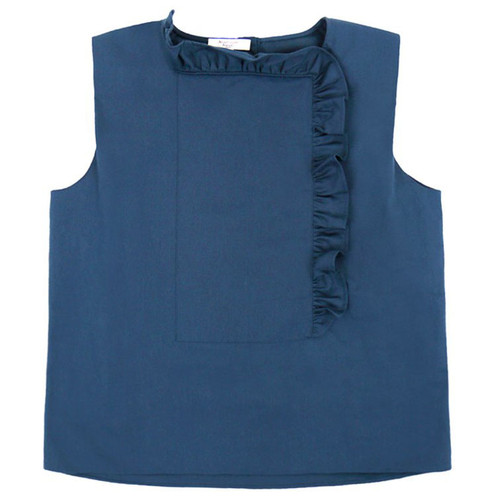 Chantilly' Prussian Blue Blouse