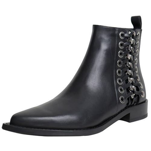 Black Heavy Hardware Boot